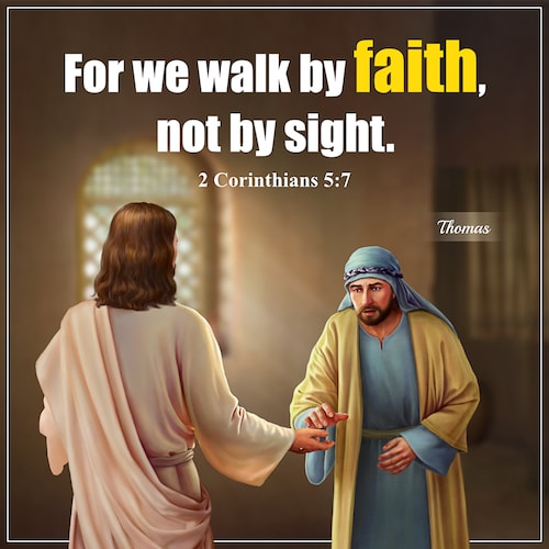 2 Corinthians 5 7 verse quote