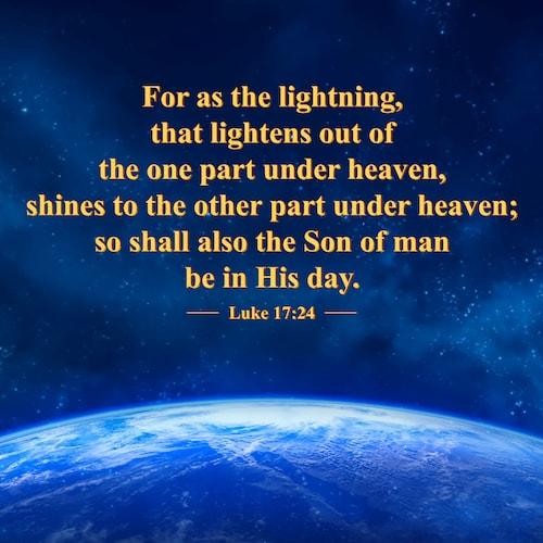Luke 17:24 quote