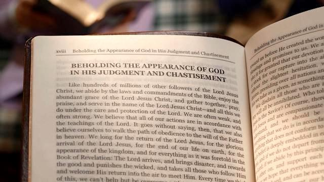 God's Word - Beholding the Appearance of God in His Judgment and Chastisement