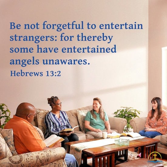 The Meaning of Hebrews 13:2—Entertaining Strangers With Love