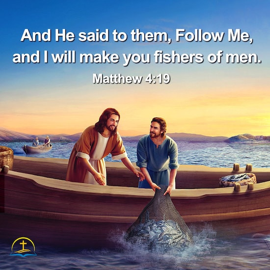 Matthew 4:19 - Verse Meaning - Becoming Fishers of Men