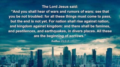 Bible Verses About Signs of the End Times