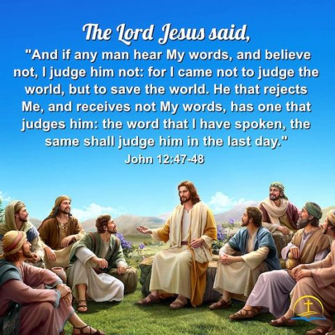 John 12:47–48 - Verse Meaning