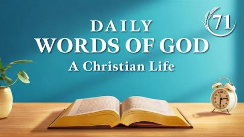 """Daily Manna """"The Appearance of God Has Ushered in a New Age"""" Excerpt 71"""